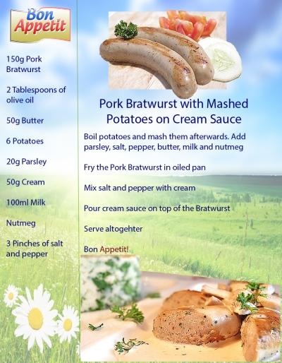 Bon App Bratwurst