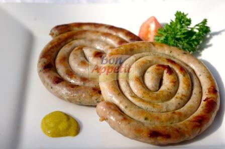 German Style Pork Snail Sausage