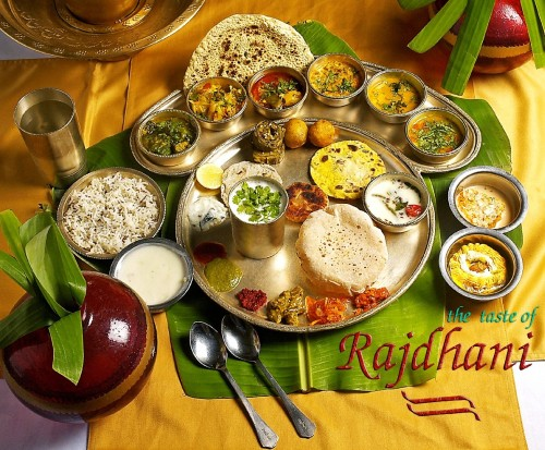 Rakdhani Thali