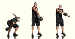The Kettlebells Swing