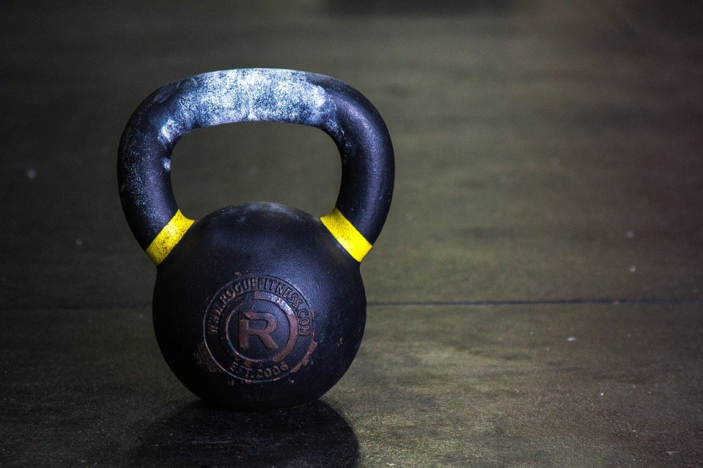 Give Your Dumbbells A Break — Try Working Out With Kettlebells Instead
