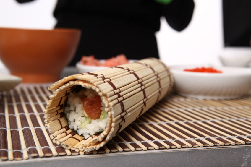Items like sushi if made from farmed fish can make you sick.