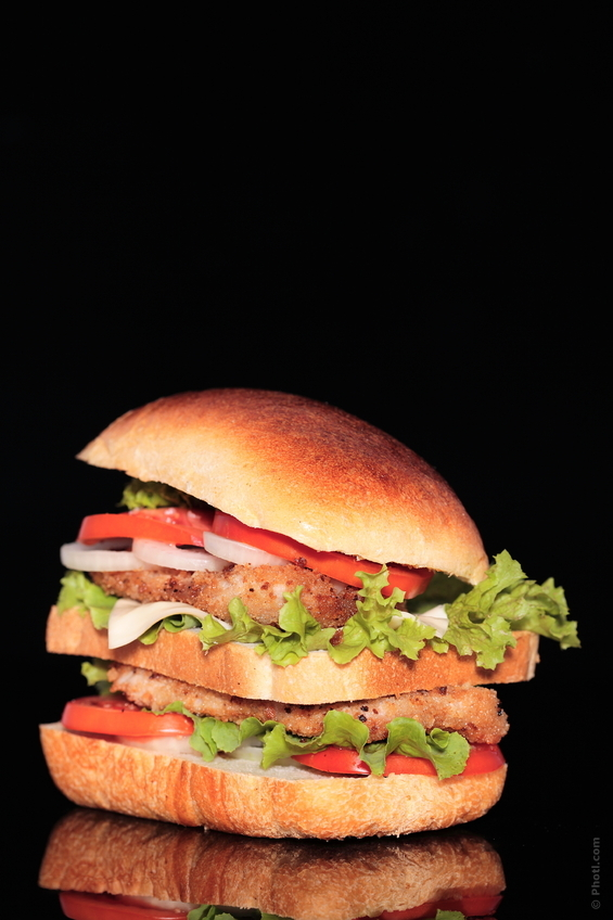 Low Fat Chicken Burger