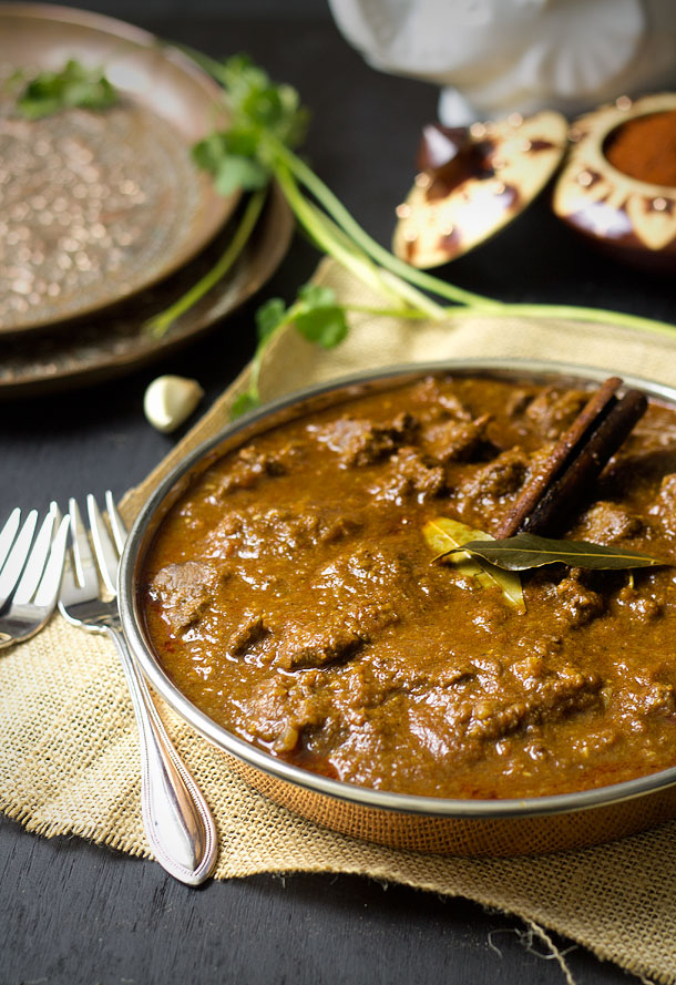 Low Fat Lamb Curry in Olive Oil