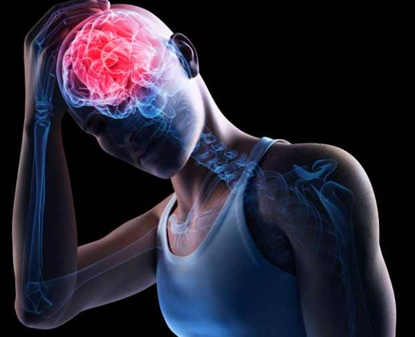 A concussion can cause trauma to the brain. And even if you feel absolutely OK otherwise, it is highly recommended that you refrain from working out for a few weeks.
