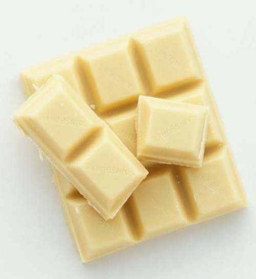 Unlike dark chocolate that comes with many nutritional benefits, the health profile of white chocolate is blank.