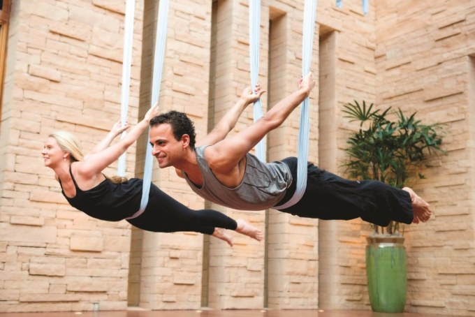 Until you are 100% sure of your aerial yoga skills, it is best to not perform them alone. It might feel intimidating and challenging at first, but has the potential to become your favourite form of exercise, especially if you want the stress-relieving benefits of yoga coupled with some core-strengthening exercises. Definitely worth a try!