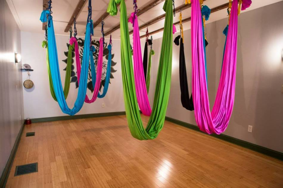 Make sure that you are taught by a certified Aerial yoga instructor and don't try to learn this form of yoga yourself at home. It is best to join a group class. Your instructor will guide you to perform aerial poses properly, hence minimizing risk for injury.