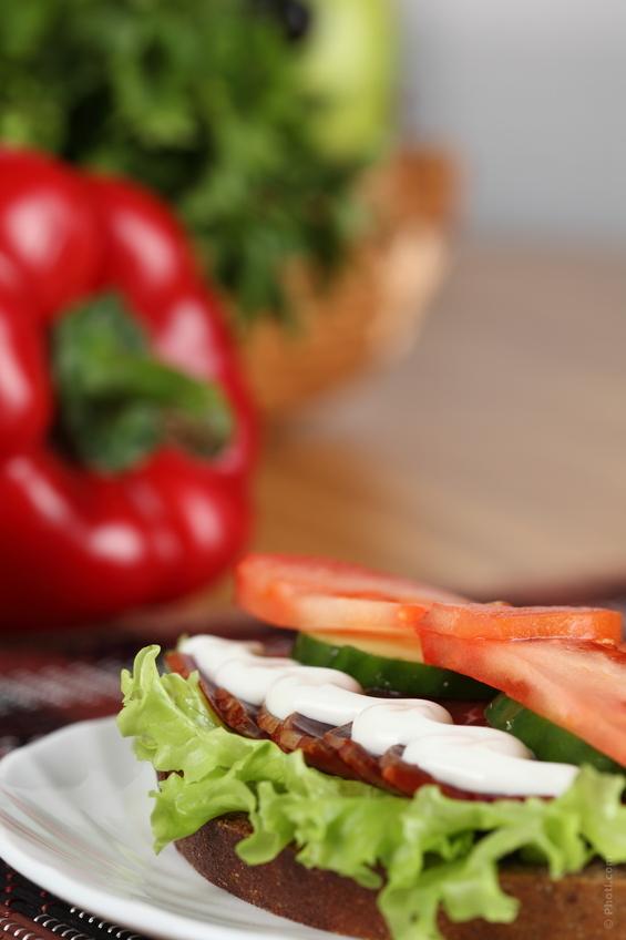 Simple Gluten Free Ham Sandwich