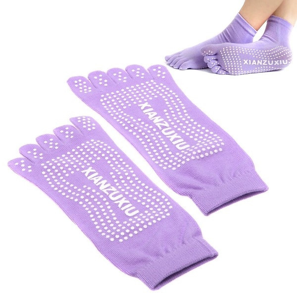Pure Color Yoga Socks