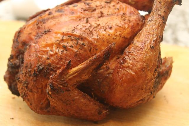 Crispy and Light Roast Chicken