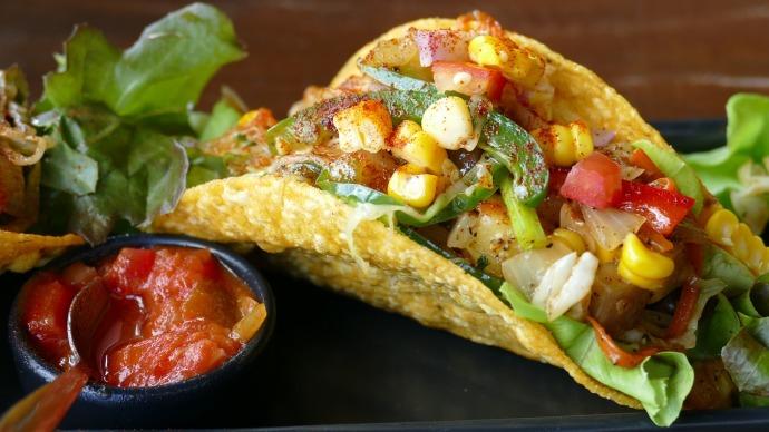 Delicious Vegan Tacos