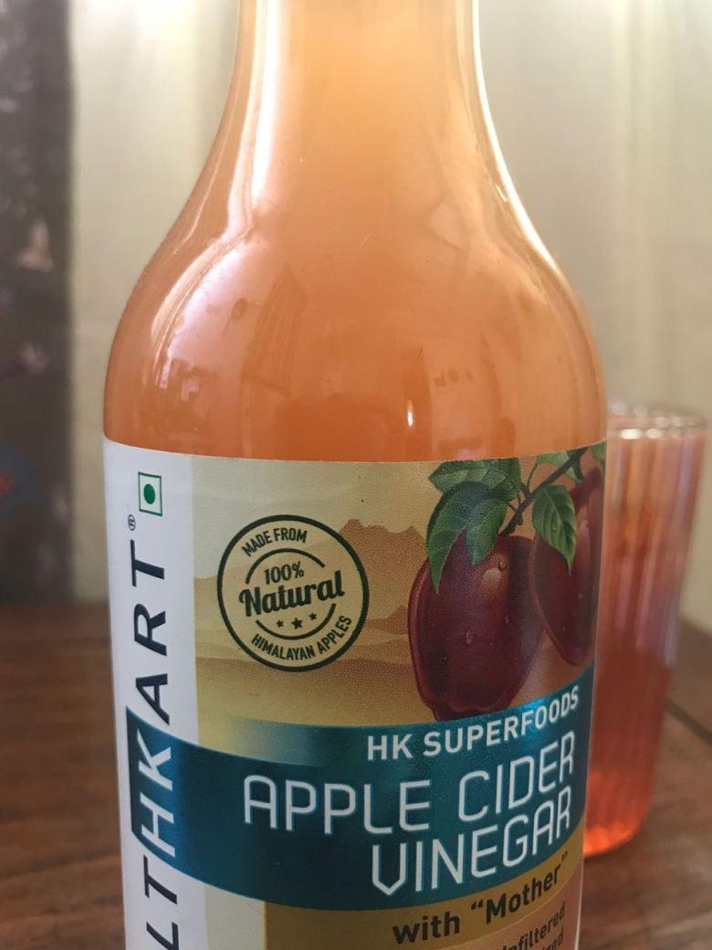 Apple Cider Vinegar from HealthKart