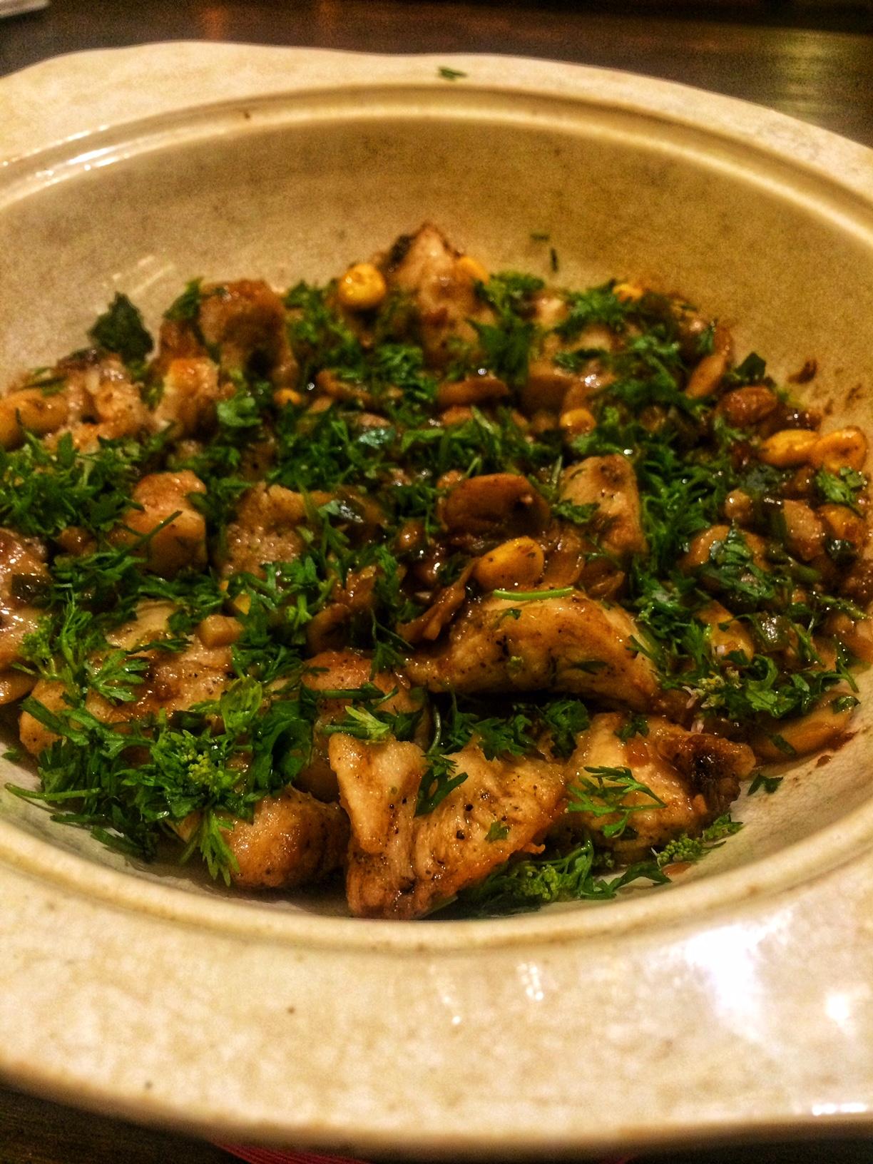Low-Fat Virgin Chicken Marsala