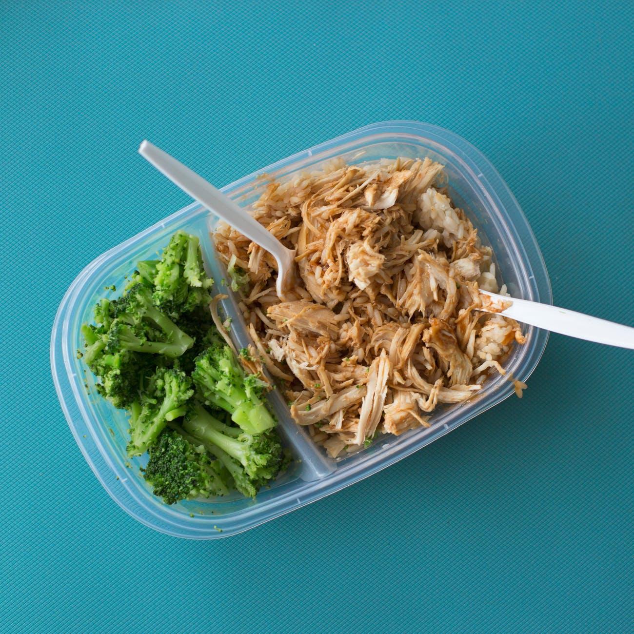 food healthy meal prep tupperwear